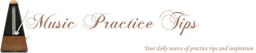 music practice tips logo